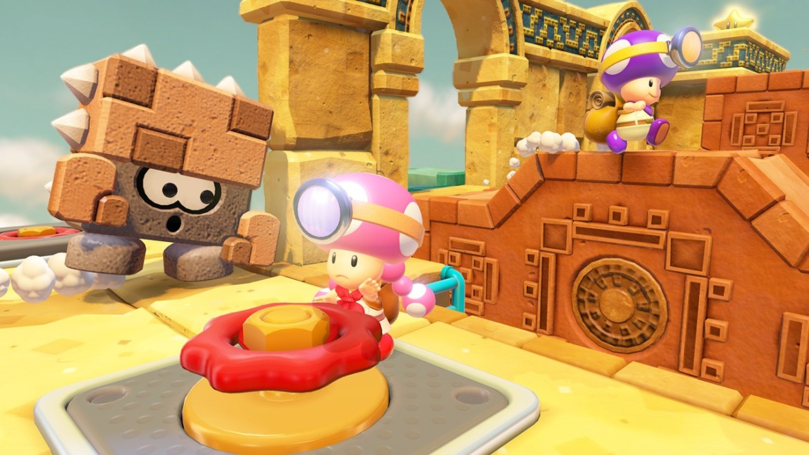 Captain Toad: Treasure Tracker Coop Screenshot 1