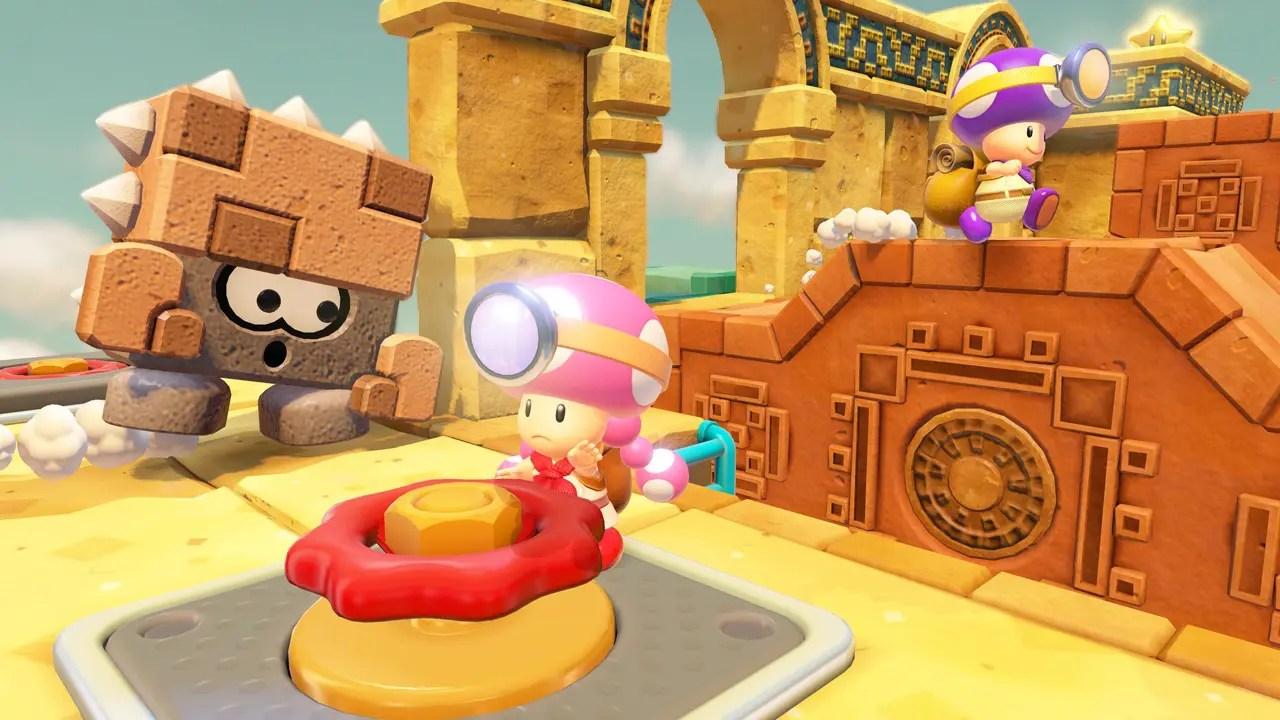 Captain Toad: Treasure Tracker Coop Screenshot 1