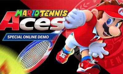 Mario Tennis Aces Special Online Demo Image