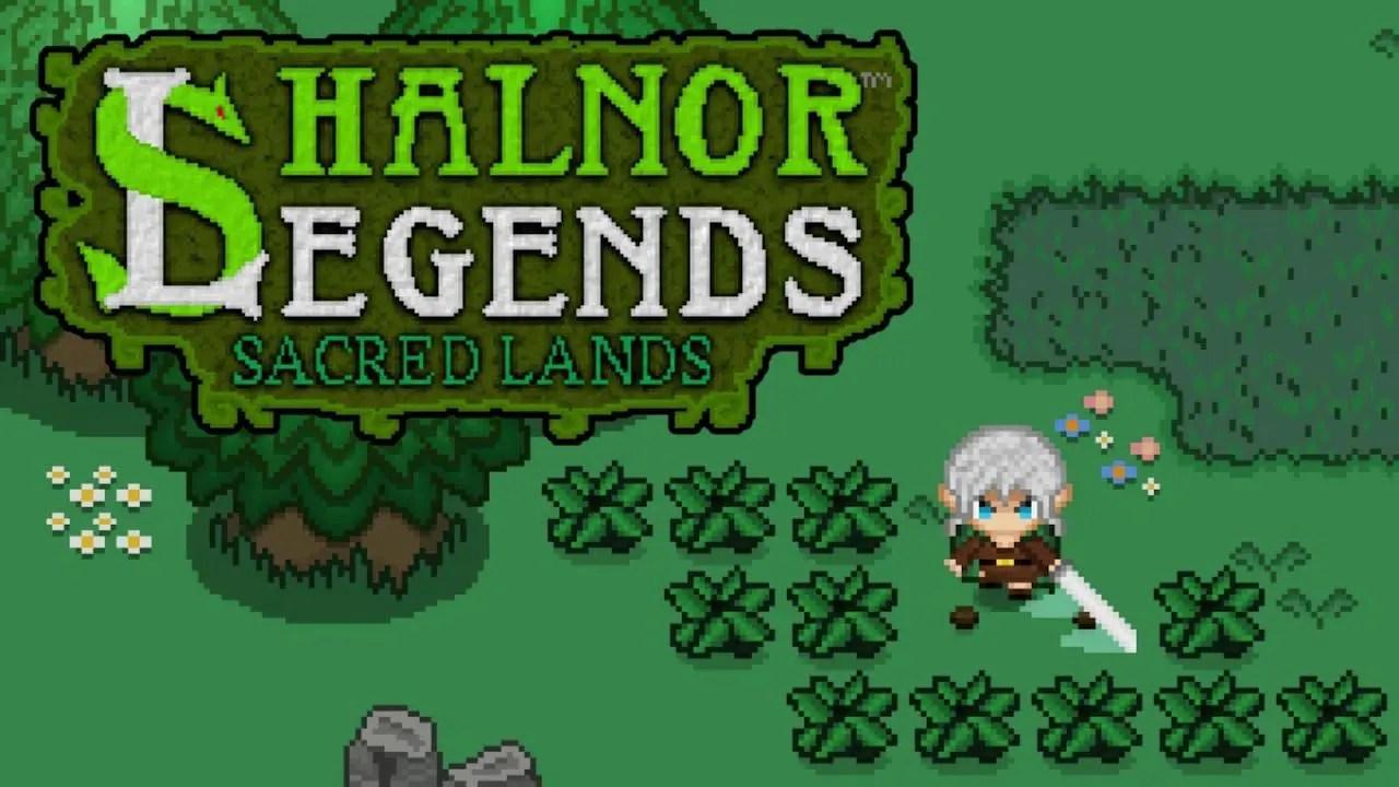 Shalnor Legends: Sacred Lands Logo