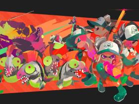 Splatoon 2 Salmon Run Key Art