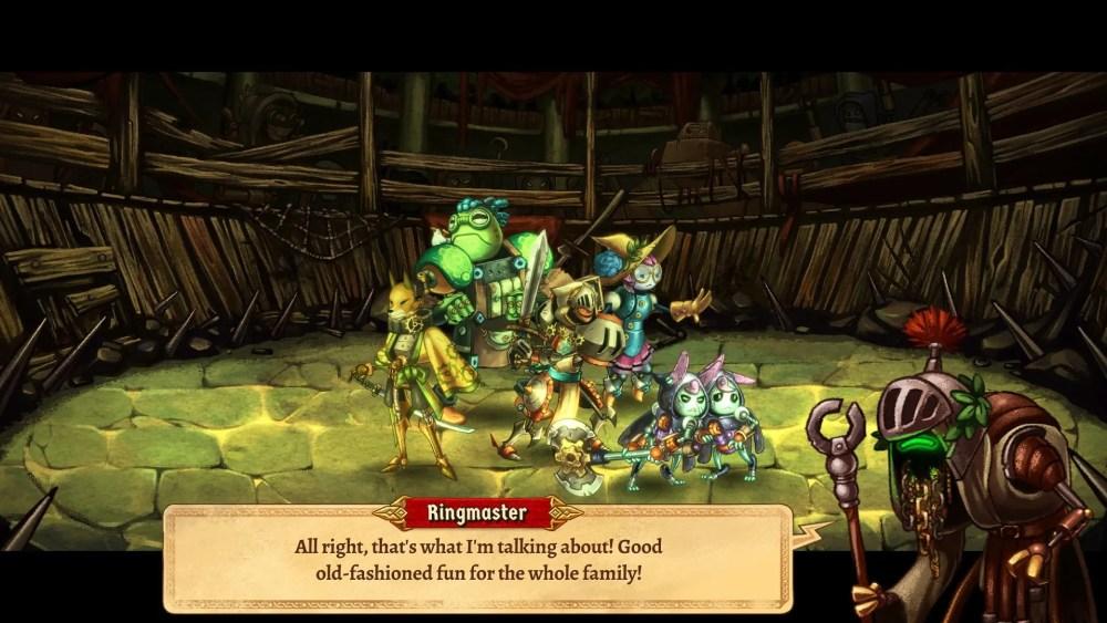 SteamWorld Quest Review Screenshot 2