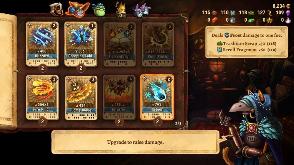 SteamWorld Quest Review Screenshot 3