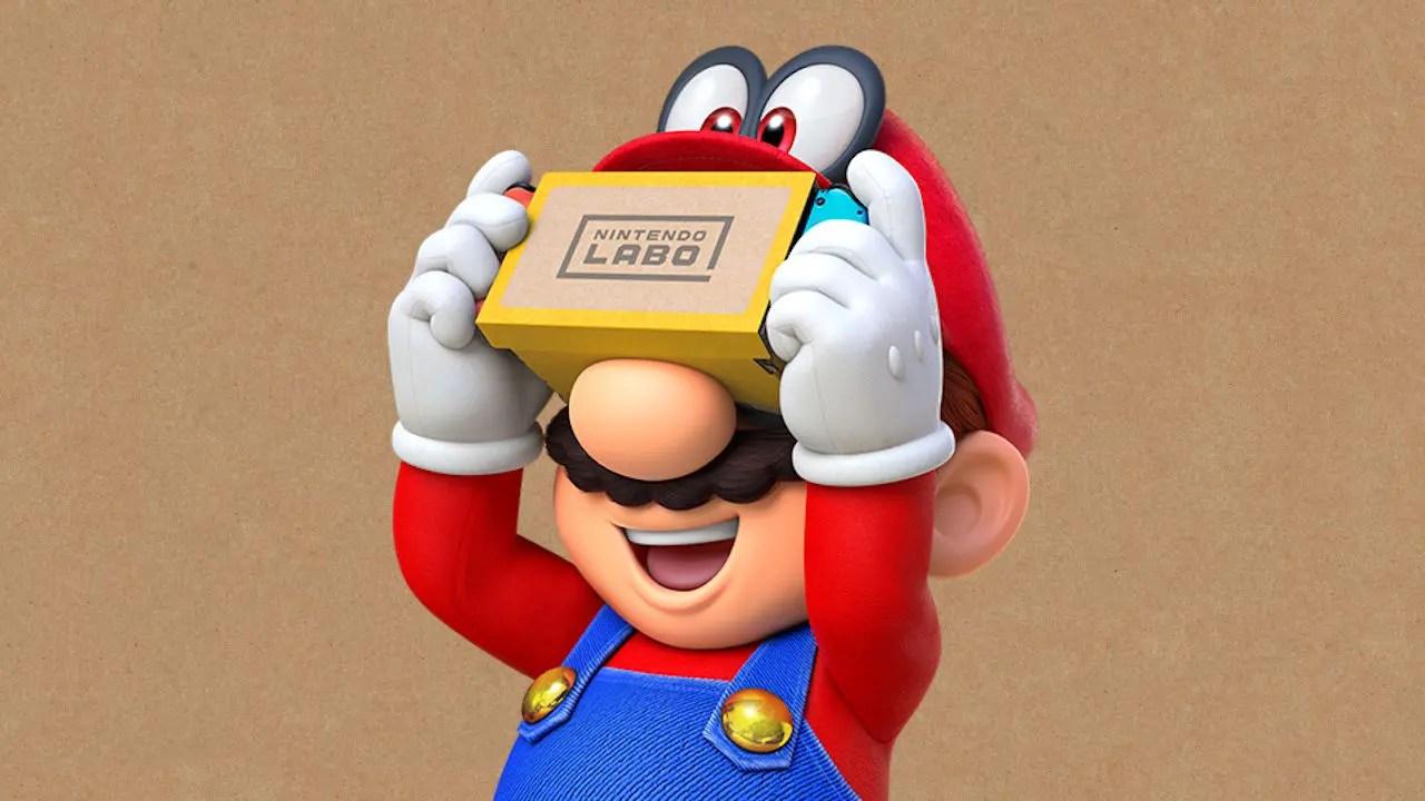 Super Mario Odyssey Update Version 1 3 0 Adds Nintendo Labo