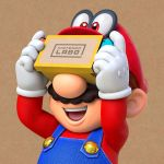 Super Mario Nintendo Labo VR Kit Artwork