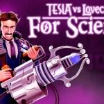 Tesla Vs Lovecraft For Science! Key Art