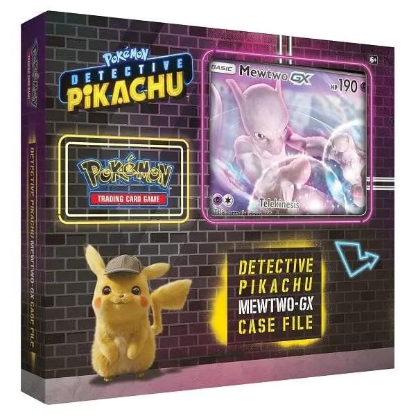 Detective Pikachu Mewtwo-GX Case File Photo