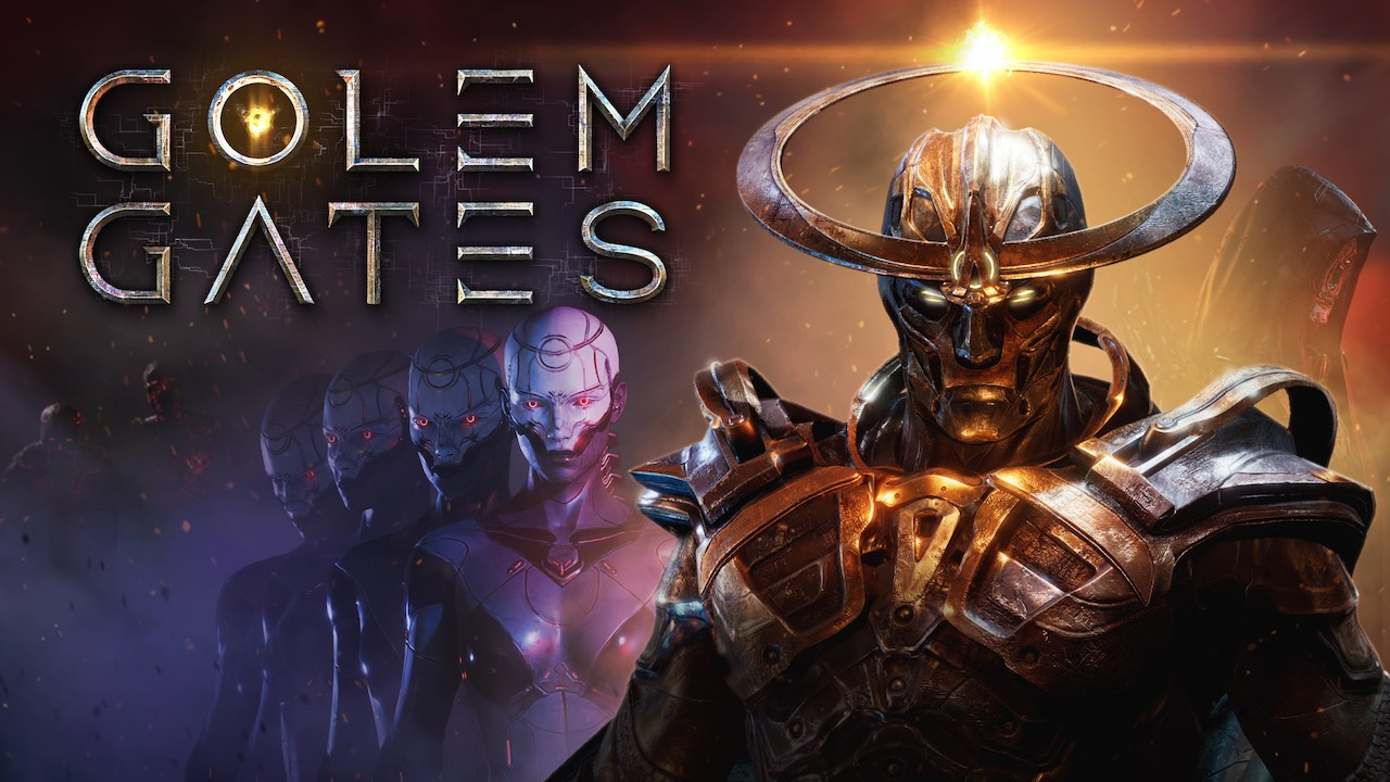 Golem Gates Key Art