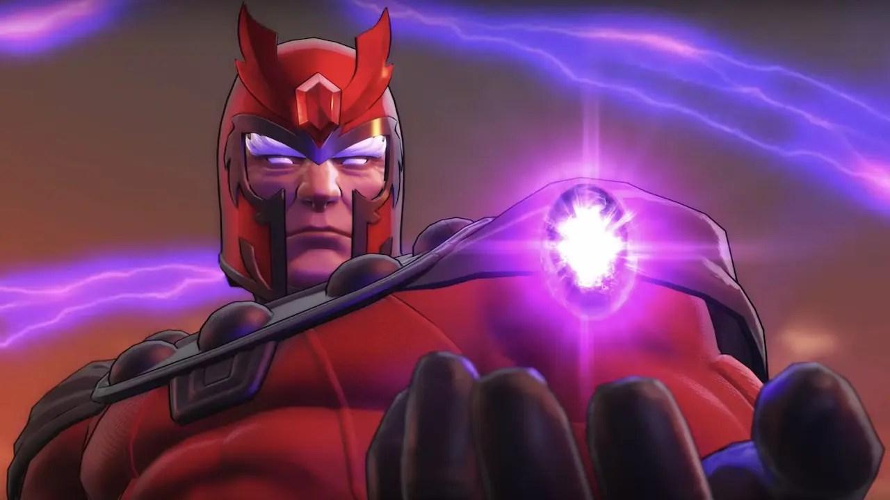 Marvel Ultimate Alliance 3: The Black Order Magneto Screenshot