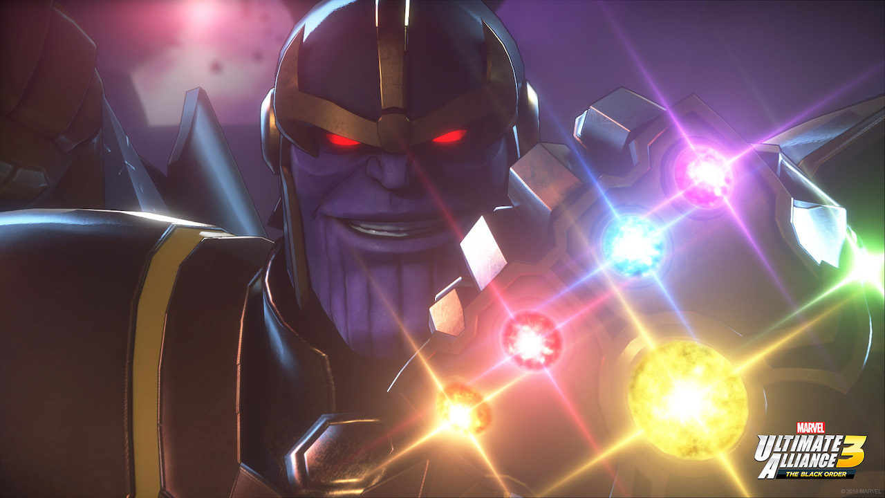 Marvel Ultimate Alliance 3: The Black Order Thanos Screenshot