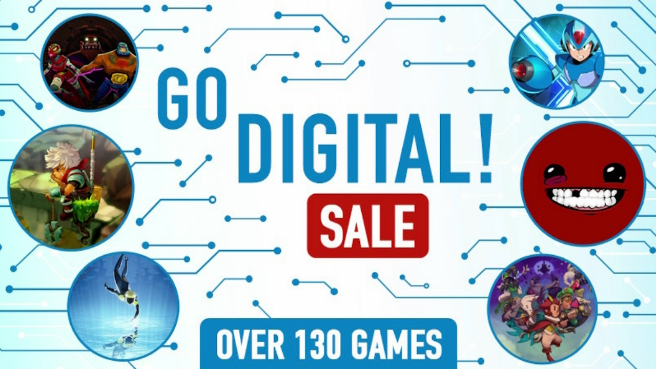 Nintendo eShop Go Digital! Sale Screenshot