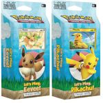 Pokémon TCG: Let's Play, Pikachu! Eevee! Theme Decks Photo