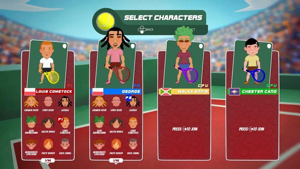 Super Tennis Blast Screenshot 3