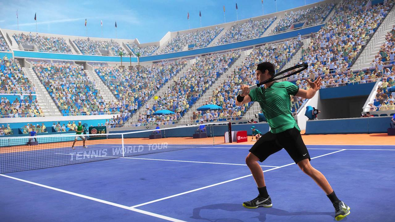 Tennis World Tour Roland-Garros Edition Screenshot