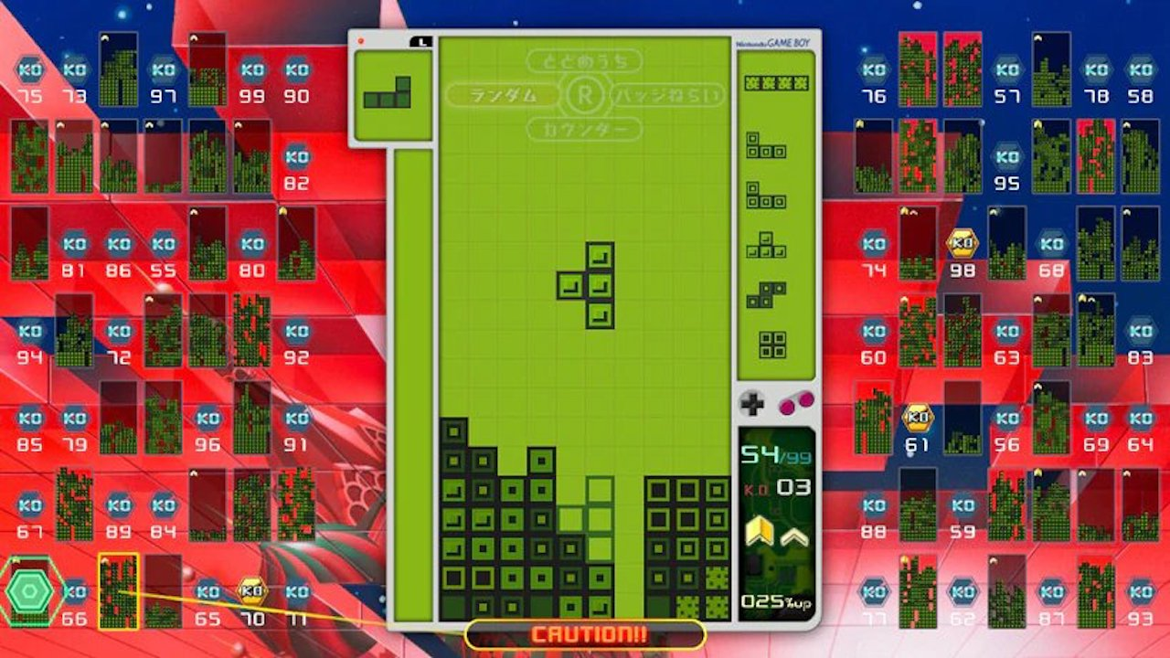 Unlock This Classic Game Boy Theme In The Next Tetris 99 Grand Prix
