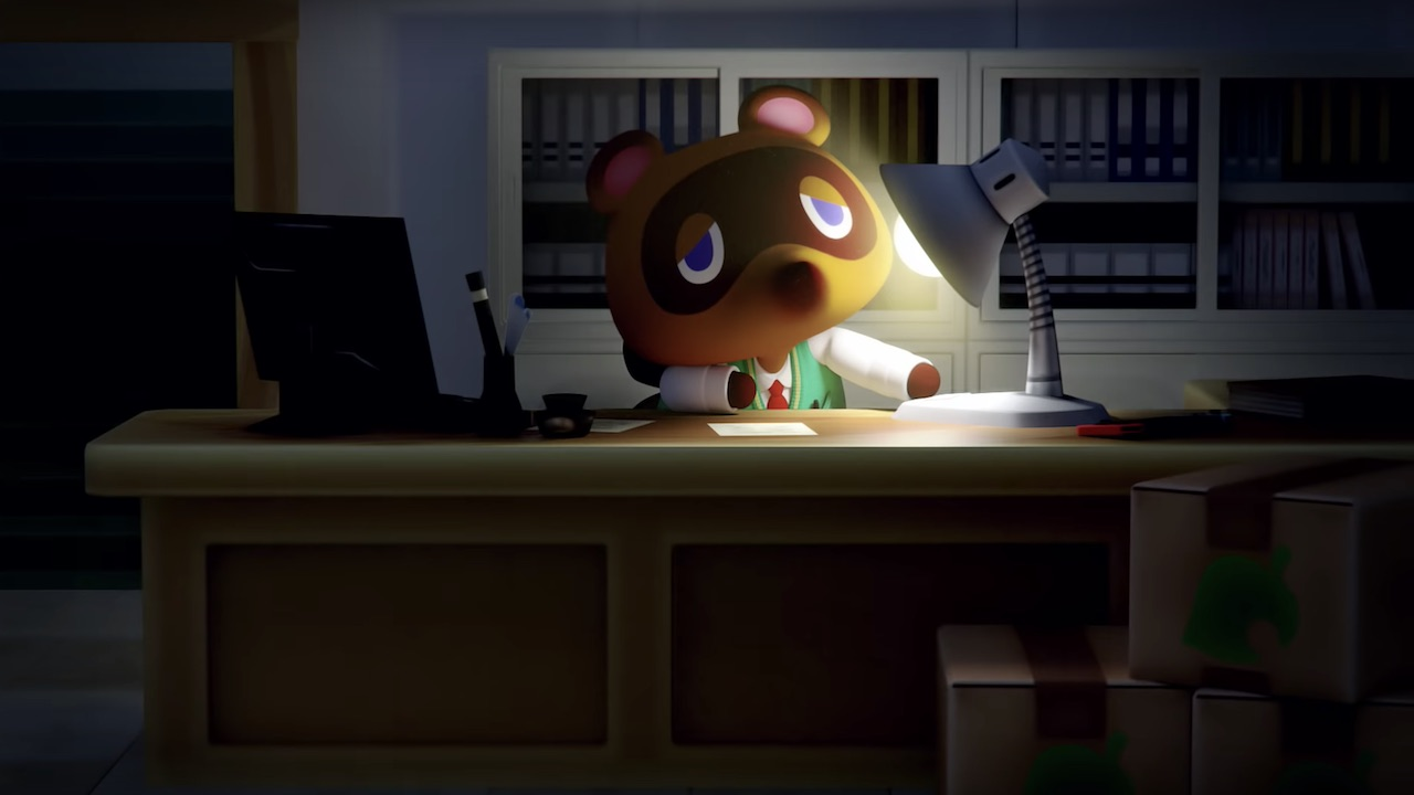 Animal Crossing Tom Nook Screenshot