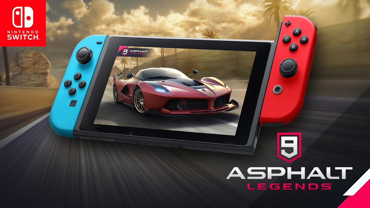 Asphalt 9: Legends Switch Screenshot