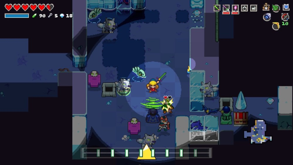 Cadence Of Hyrule Review Screenshot 1