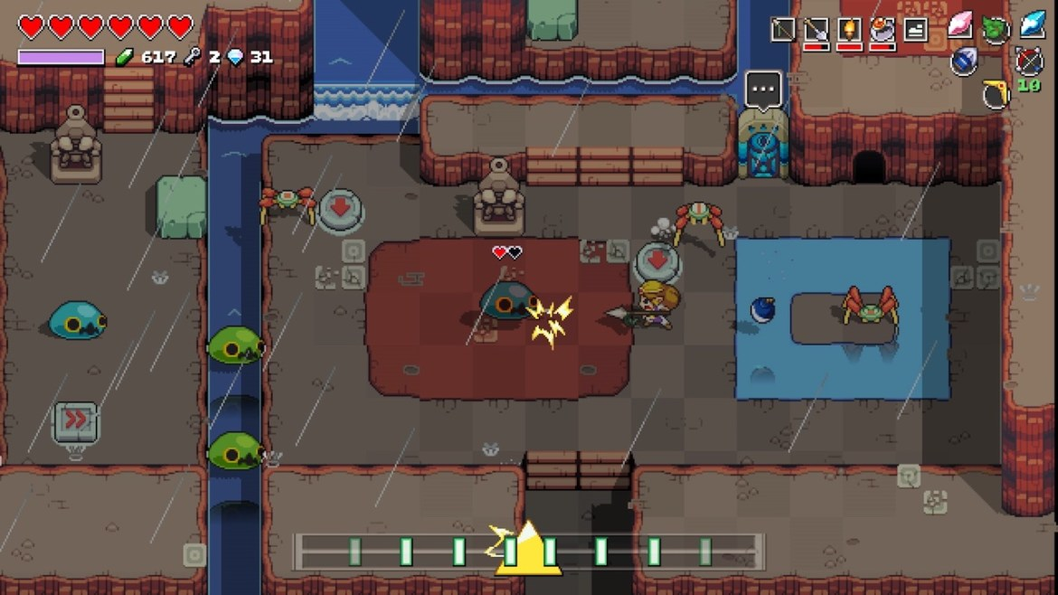 Cadence Of Hyrule Review Screenshot 2