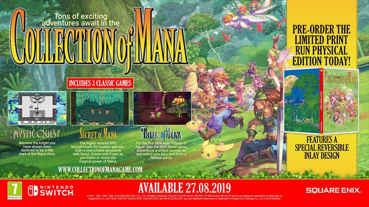 Collection of Mana Physical Edition Image