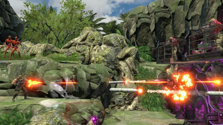 Contra: Rogue Corps E3 2019 Screenshot 6