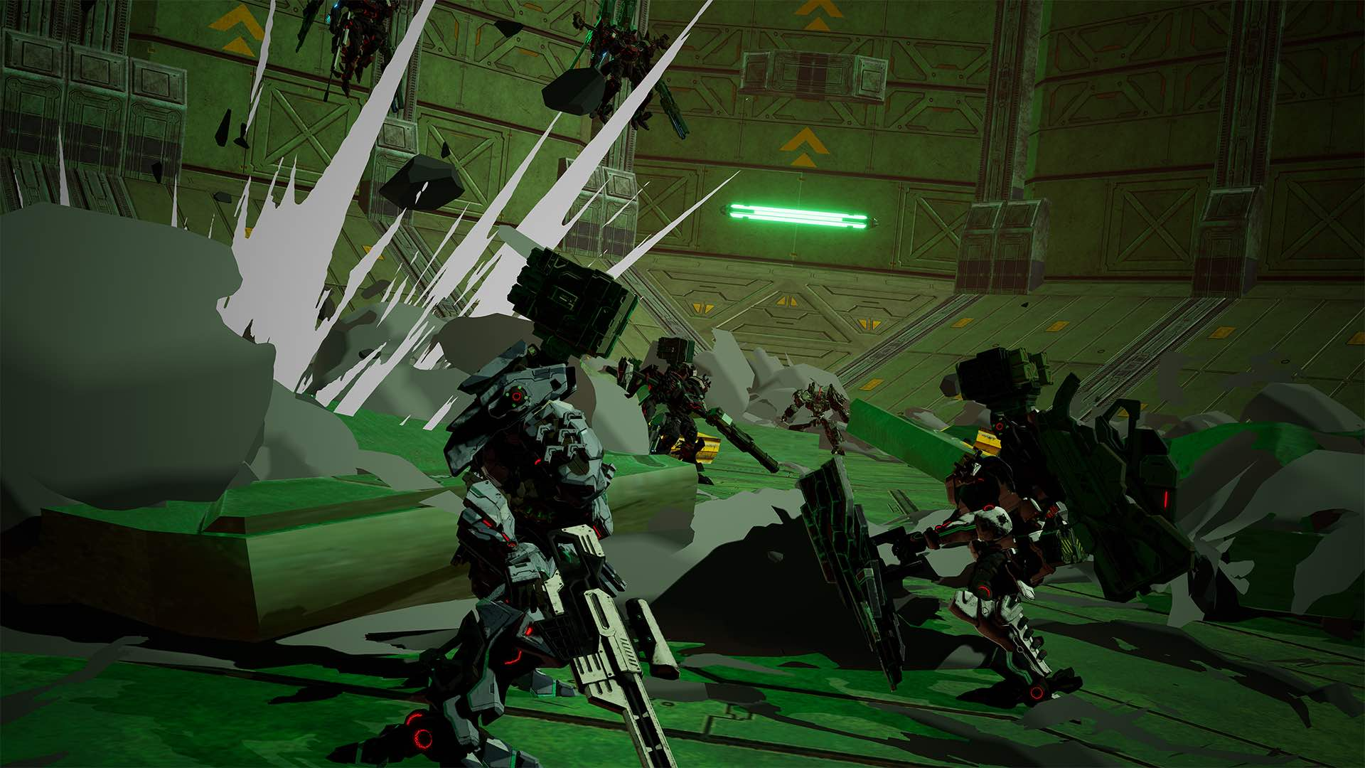 Daemon X Machina E3 2019 Screenshot 8