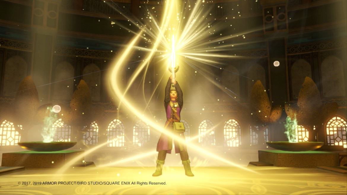 Dragon Quest XI S: Echoes of an Elusive Age Definitive Edition E3 2019 Screenshot 2
