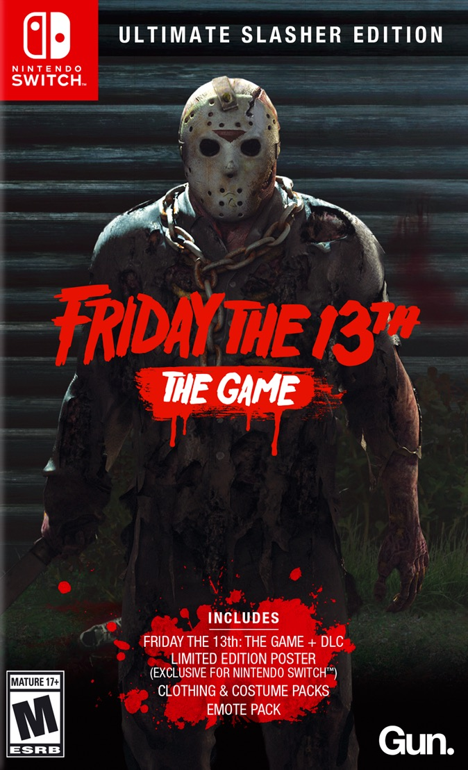 Friday The 13th: The Game Ultimate Slasher Edition Switch Box Art