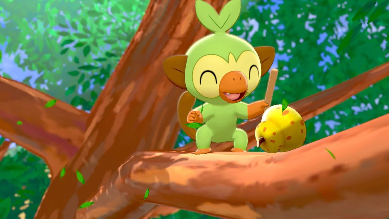 Grookey Pokémon Sword And Shield E3 2019 Screenshot