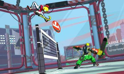 Lethal League Blaze Screenshot