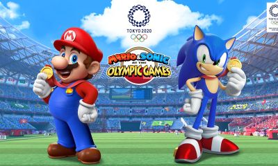 Mario And Sonic At The Olympic Games Tokyo 2020 E3 2019 Key Art