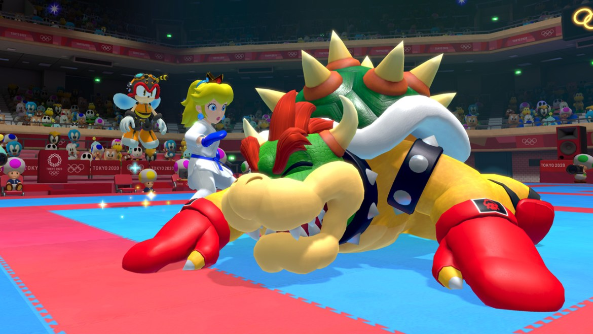 Mario and Sonic at the Olympic Games Tokyo 2020 E3 2019 Screenshot 4