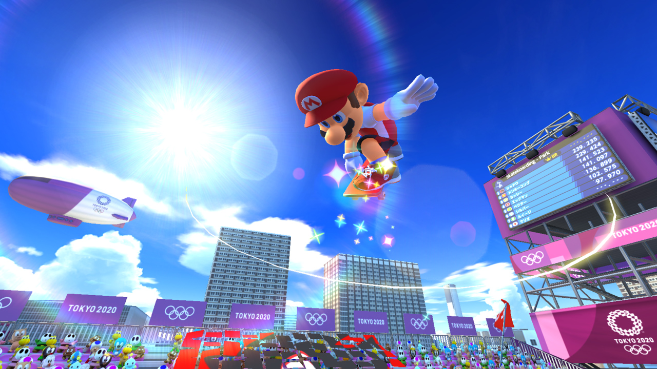 Mario and Sonic at the Olympic Games Tokyo 2020 E3 2019 Screenshot 5