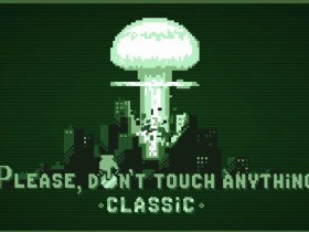 Please, Don't Touch Anything: Classic Logo