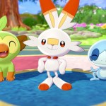 Pokémon Sword And Shield Starters Screenshot