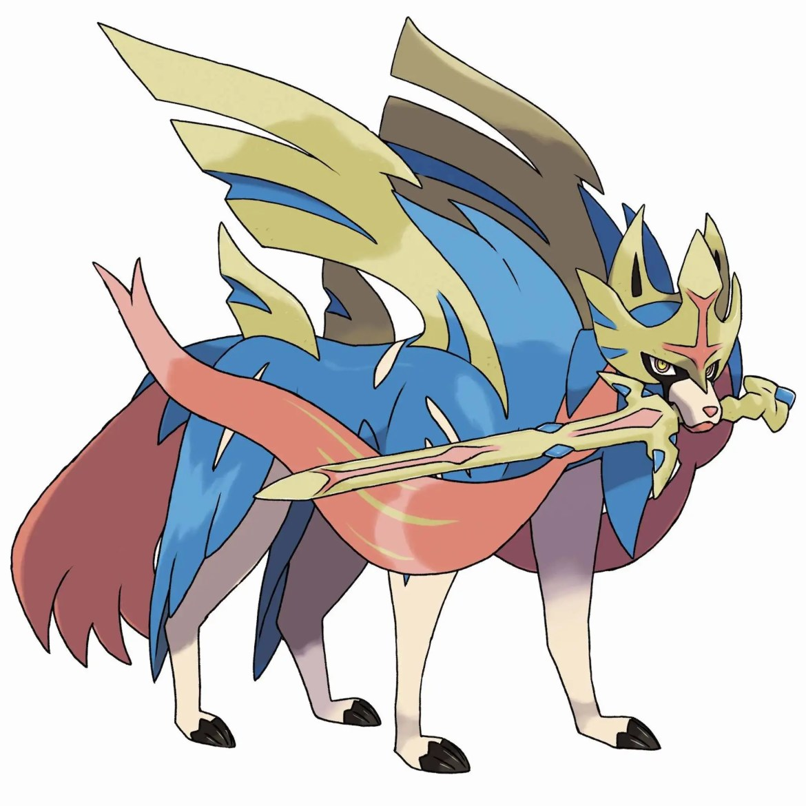 Zacian Artwork