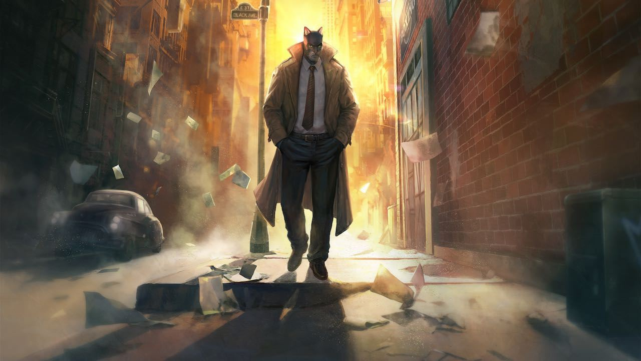 Blacksad: Under The Skin Artwork