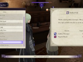 Fire Emblem: Three Houses Cooking Together Screenshot