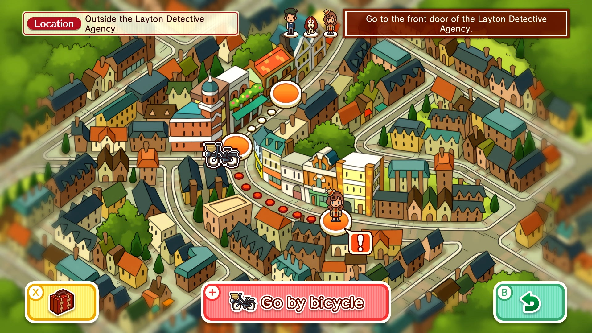 Layton's Mystery Journey: Katrielle and the Millionaires' Conspiracy Deluxe Edition Switch Screenshot 3