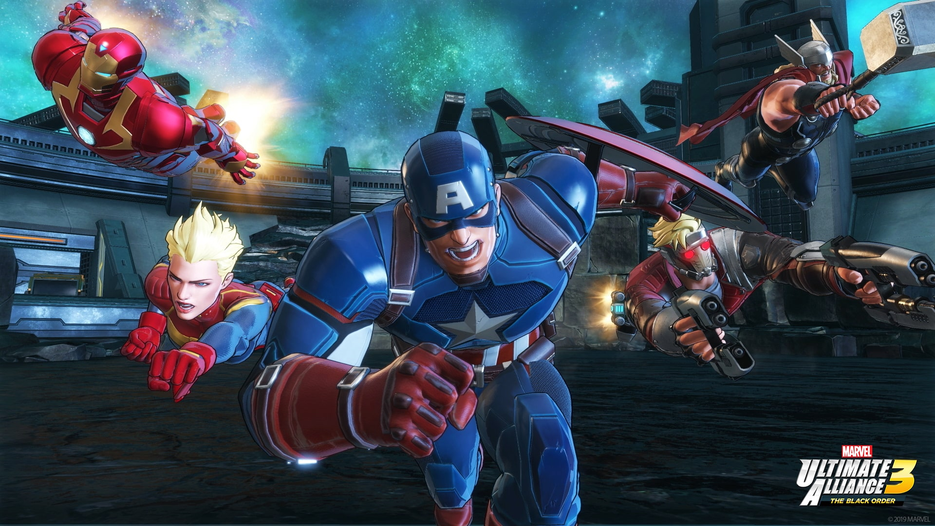 Marvel Ultimate Alliance 3: The Black Order Review Screenshot 1