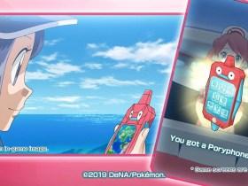 Pokémon Masters Poryphone Screenshot