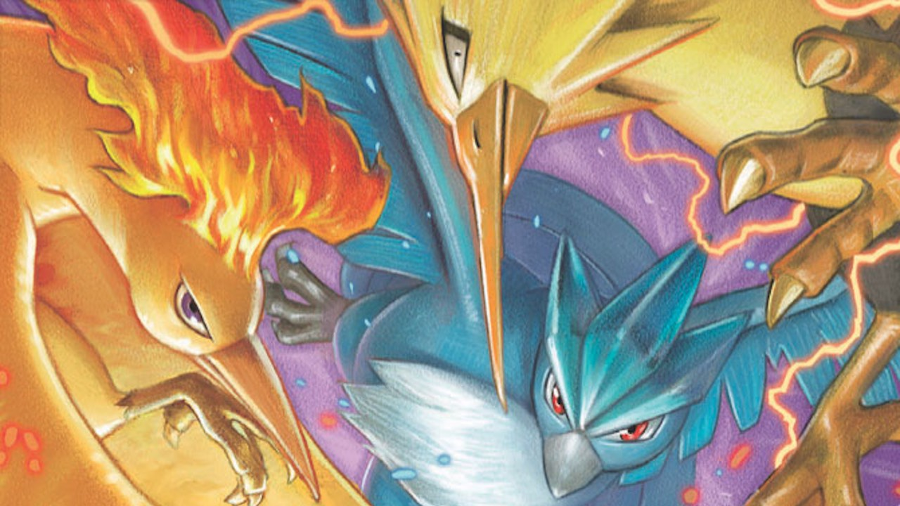 Pokémon TCG Hidden Fates Moltres Zapdos Articuno Image