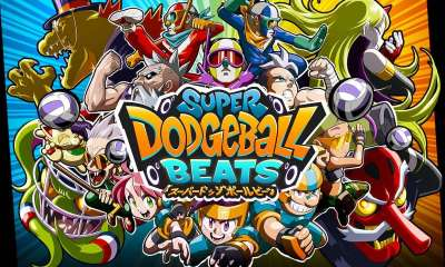 Super Dodgeball Beats Key Art