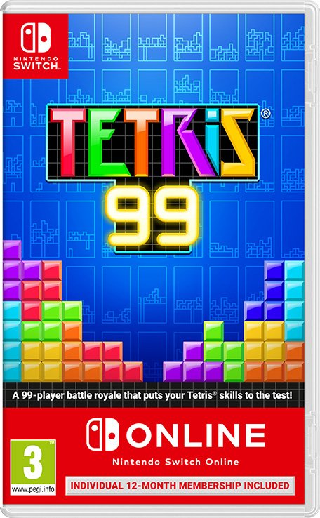 Tetris 99 Switch Box Art