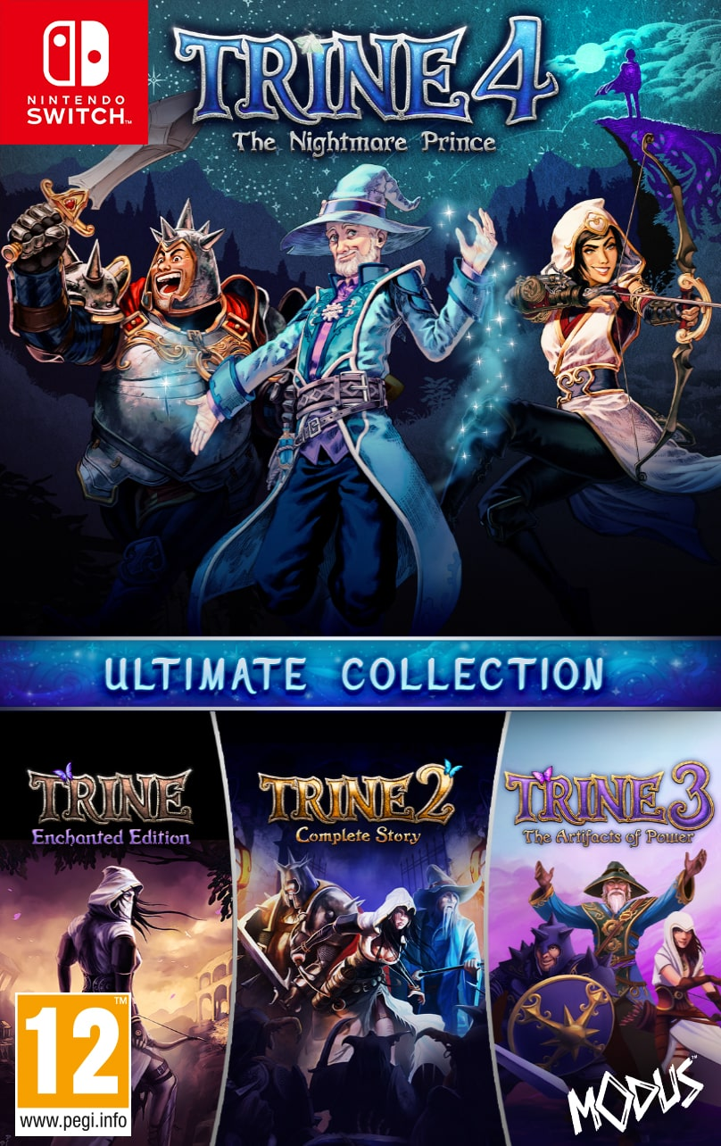 Trine: Ultimate Collection Switch Box Art