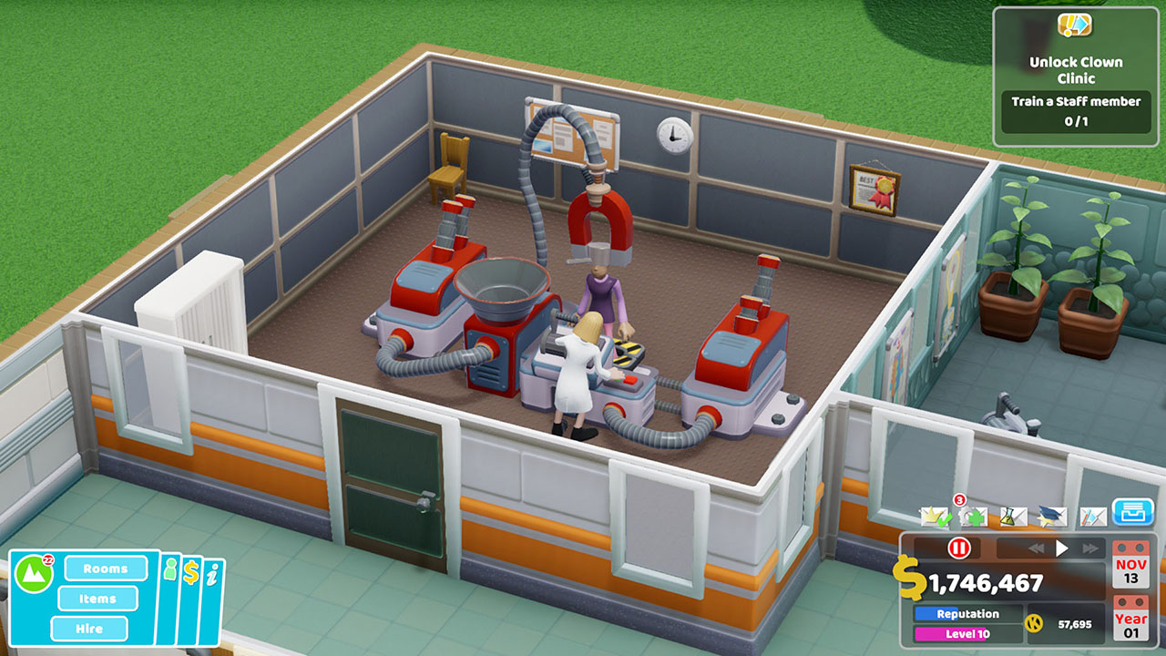 Two Point Hospital Nintendo Switch Screenshot 3