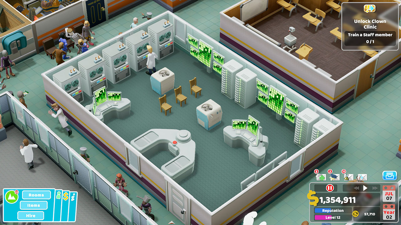 Two Point Hospital Nintendo Switch Screenshot 4