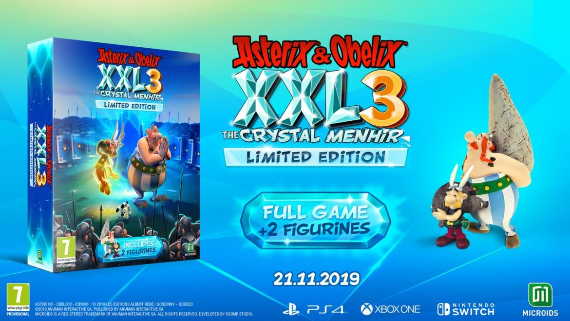 Asterix and Obelix XXL3: The Crystal Menhir Limited Edition Photo