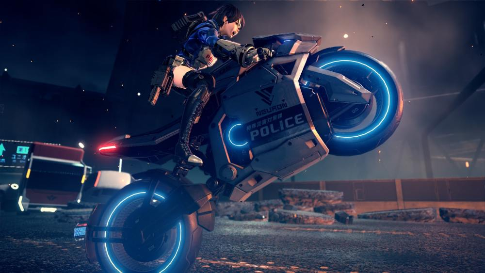 Astral Chain Preview Screenshot 2