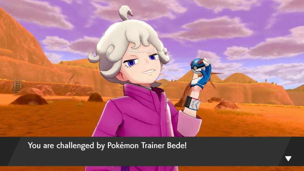 Bede Pokémon Sword And Shield Screenshot
